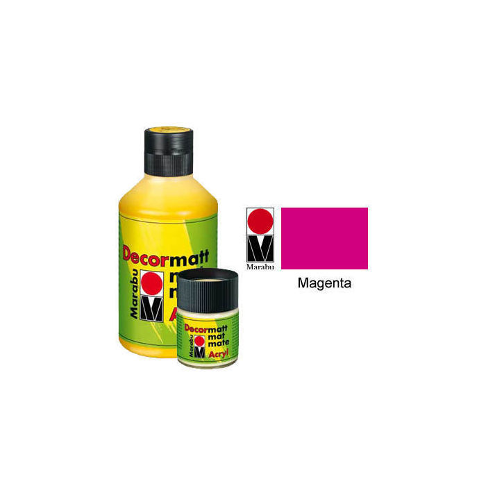 Marabu Decormatt 50ml Magenta