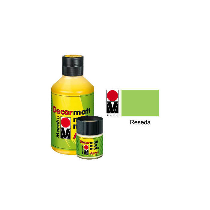 Marabu Decormatt 50ml Reseda