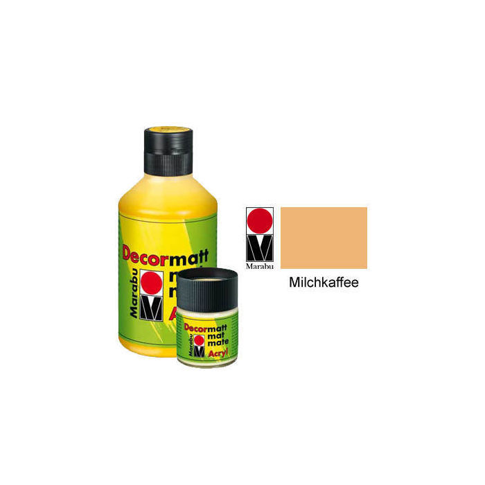 Marabu Decormatt 15ml Milchkaffee