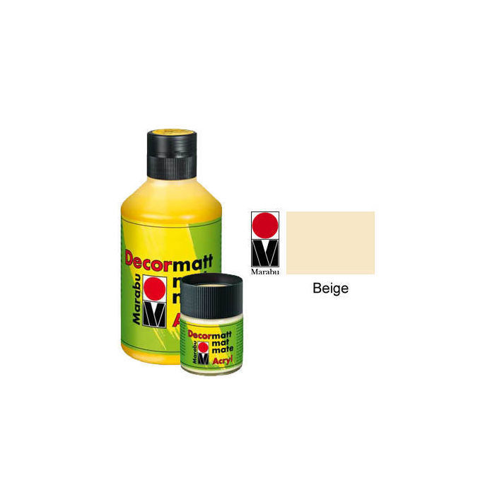 Marabu Decormatt 15ml Beige