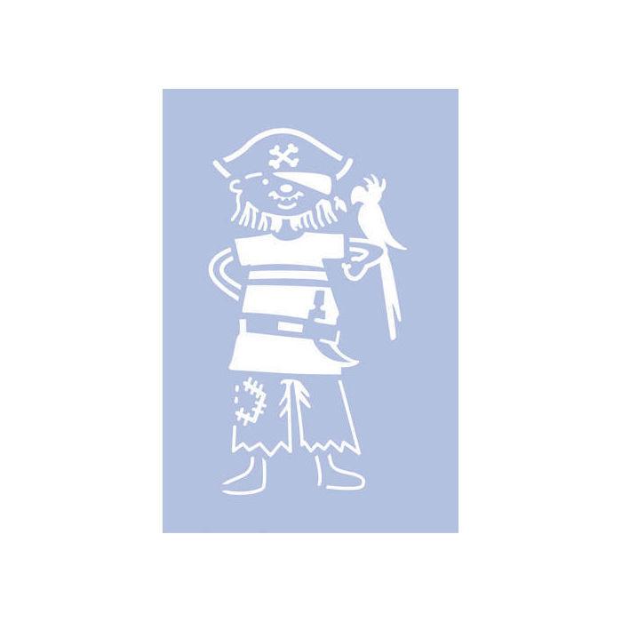 Marabu Schablone 10x15cm, Pirate - Schablonen Schablonen & Co ...