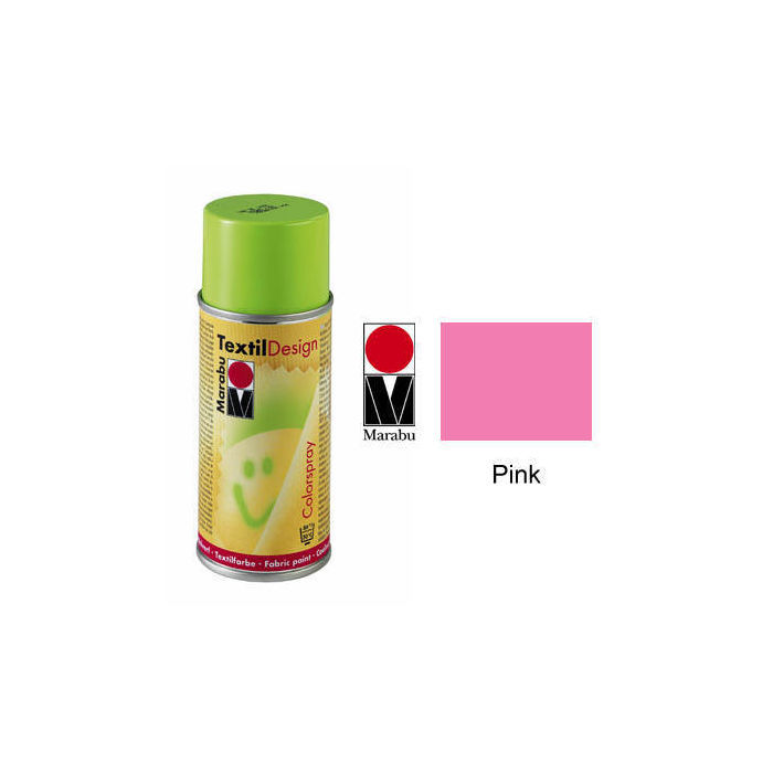 Marabu Textil Design Colorspray, 150ml, Pink