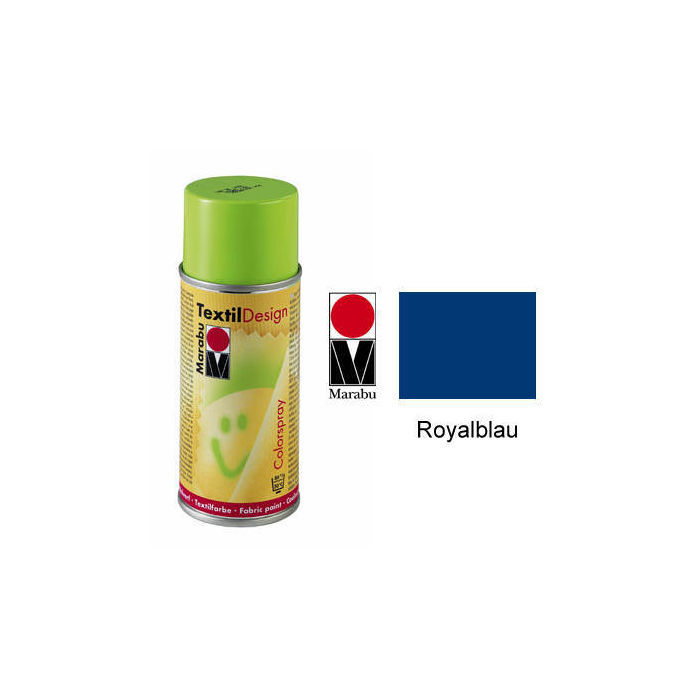Marabu Textil Design Colorspray, 150ml, Royalblau