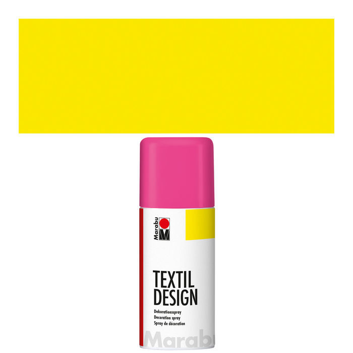 Marabu Textil Design Spray,150ml, Neon-Gelb