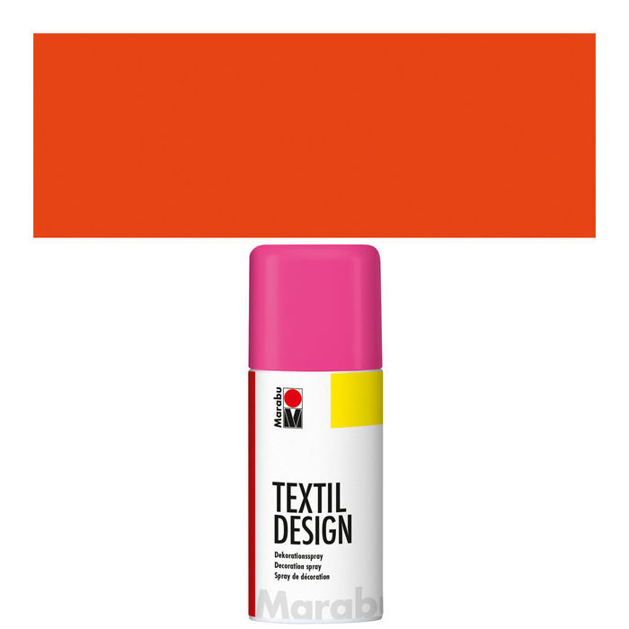 NEU Marabu Textil Design Spray,150ml, Neon-Orange