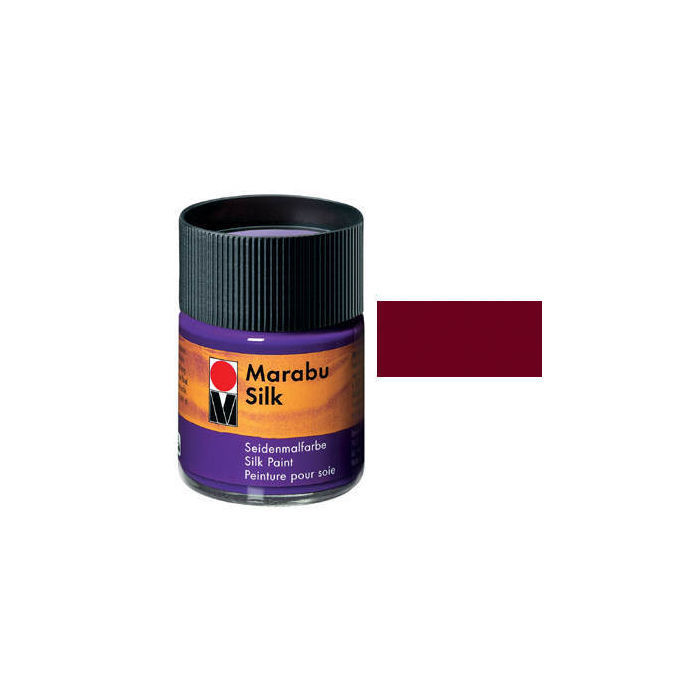 Marabu Silk, 50ml, Bordeaux