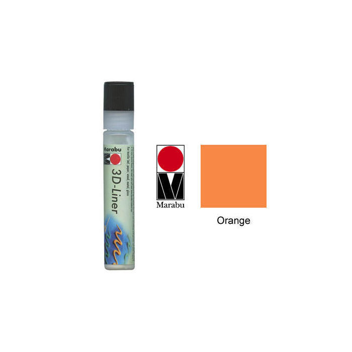 Marabu 3D Liner 25ml Orange