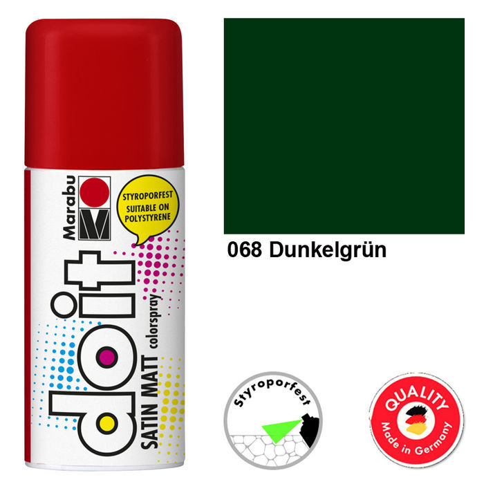 Marabu do it SATIN MATT, 150ml, Dunkelgrün