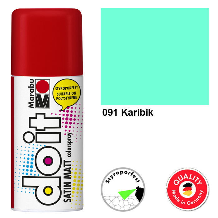Marabu do it SATIN MATT, 150ml, Karibik