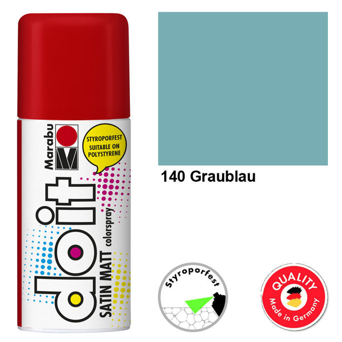 Marabu do it SATIN MATT, 150ml, Graublau