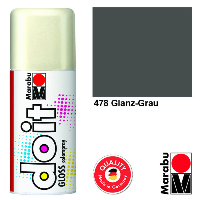 Marabu do it GLOSS, 150ml, Glanz-Grau