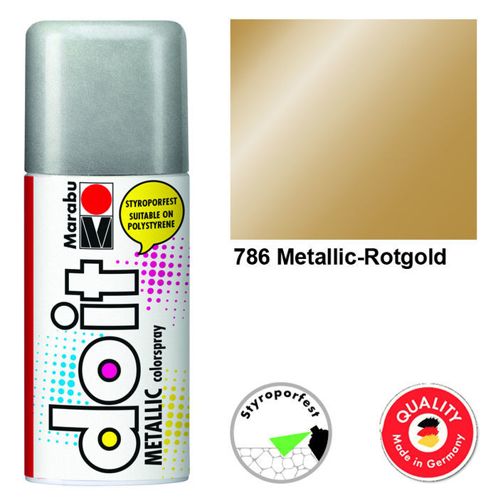 Marabu do it METALLIC, 150ml, Metallic-Rotgold