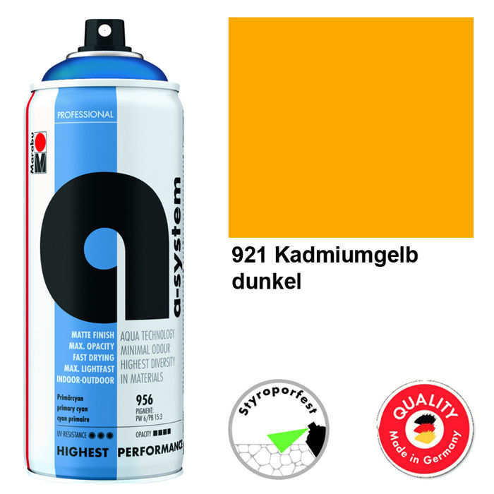 Marabu a-system Spray, 400ml, Primärgelb