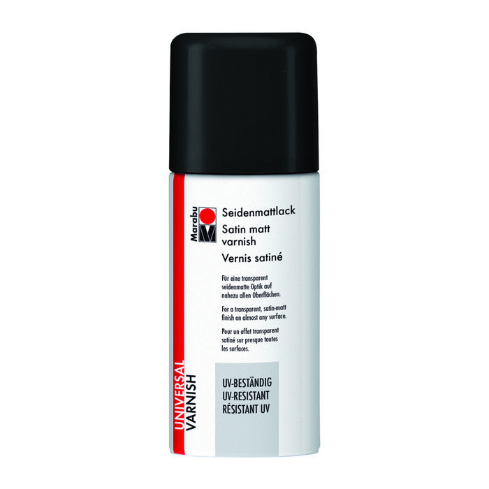 Farbloses Seidenmattlack-Spray Marabu 150ml