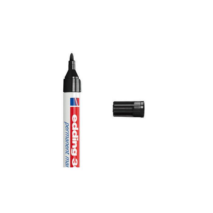 edding marker 3000 1 5 3 0mm rundspitze schwarz bestseller edding markenshop produkte. Black Bedroom Furniture Sets. Home Design Ideas