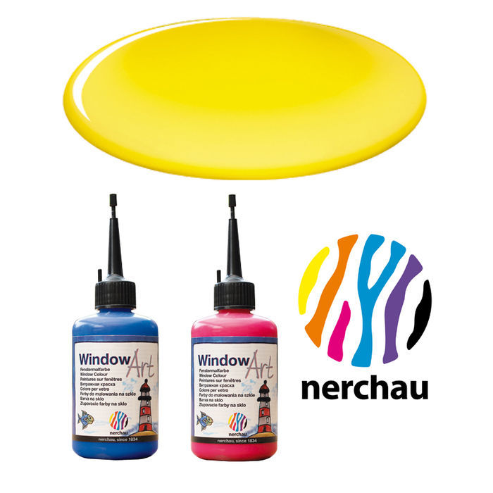 Nerchau Window Art, 80 ml, Gelb PREISHIT
