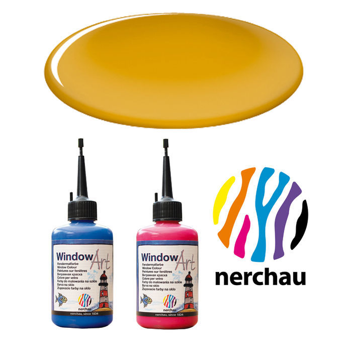 SALE Nerchau Window Art, 80 ml, Bernstein
