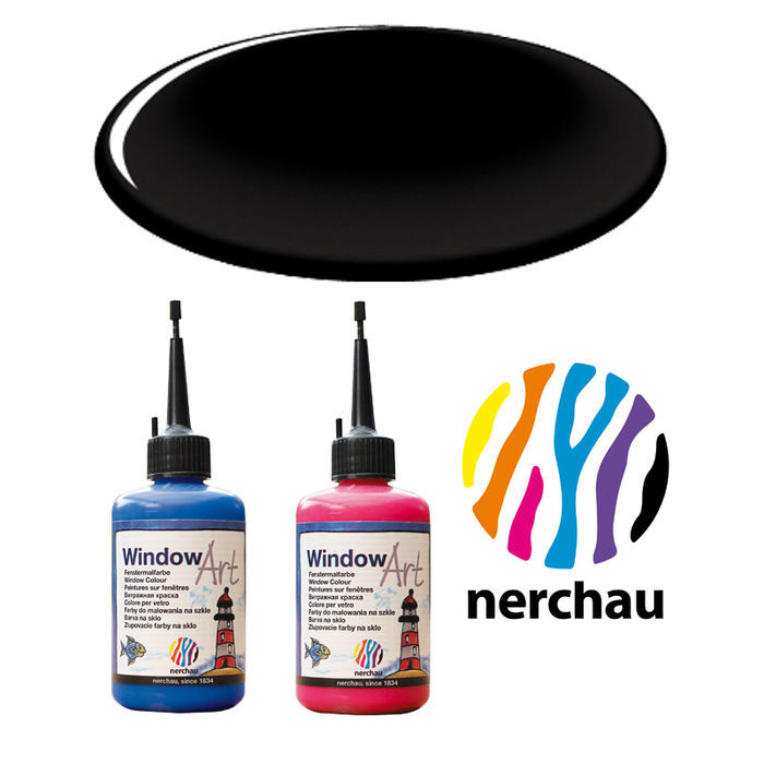 Nerchau Window Art, 80 ml, Schwarz PREISHIT