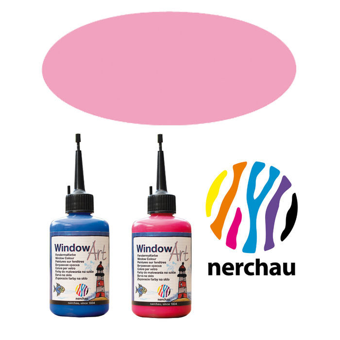 Nerchau Window Art, 80 ml, Neon-Pink PREISHIT