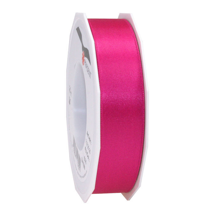 Satinband, 40mm x 5m, Pink