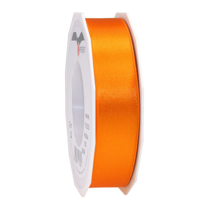 Satinband, 40mm x 5m, Orange