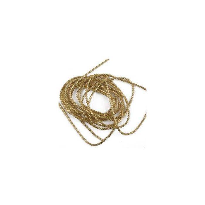 Bouillon-Draht, Gold, Länge: 2 m, Stärke: 1,5 mm - Dekoration ...