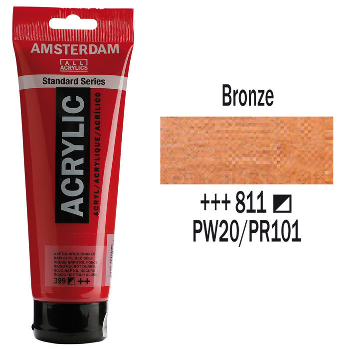 Amsterdam Acrylfarbe 250ml, Bronze