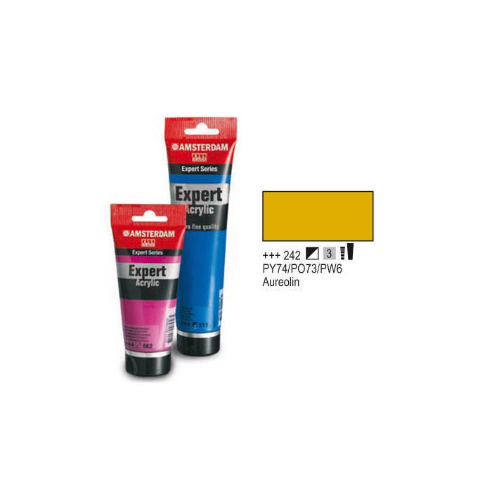 Expert Acrylfarbe 75ml, Aureolin