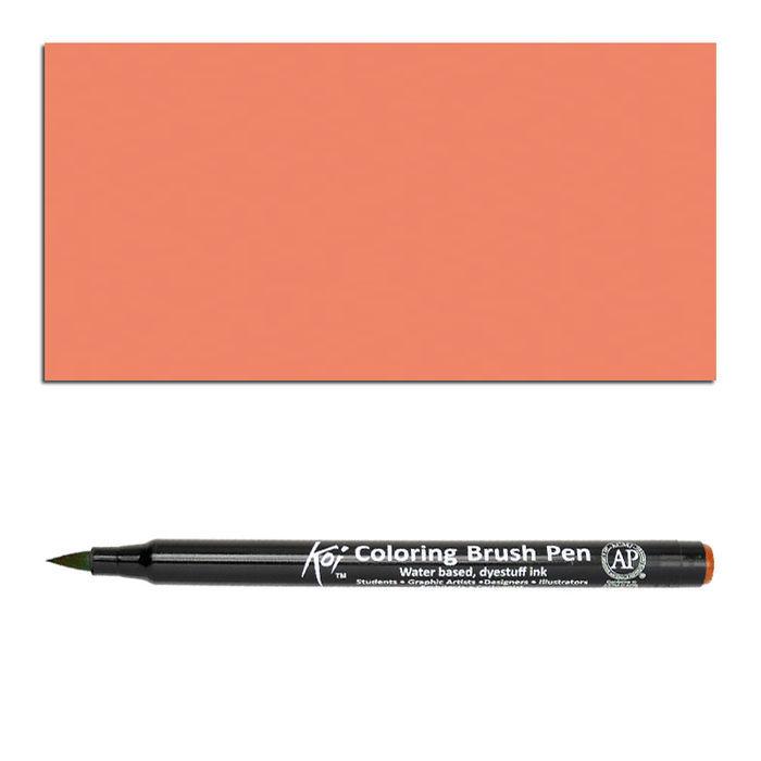 Koi Coloring Brush Pen, Persischrot - Sakura Koi Brush Pen ...