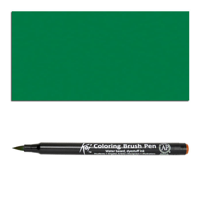Koi coloring brush pen green sakura stifte stifte for Koi brush pen