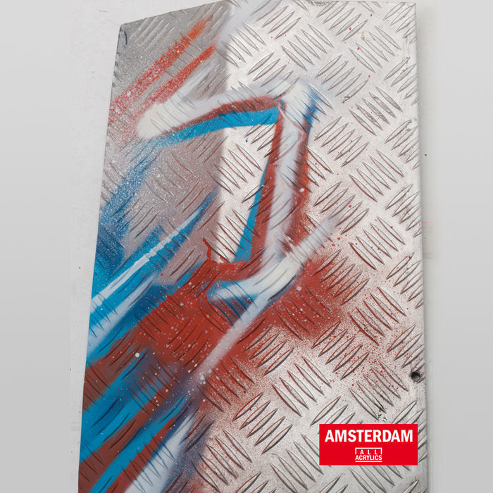 Amsterdam Spray 400 ml Permanentrotviolett H Bild 3