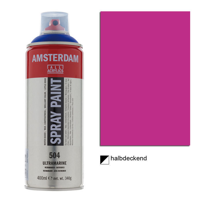 Amsterdam Spray 400 ml Permanentrotviolett H