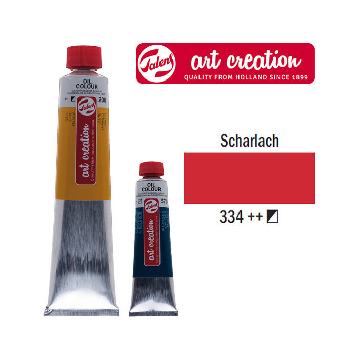 NEU Talens ArtCreation Ölfarbe, 40 ml, Scharlach | eBay