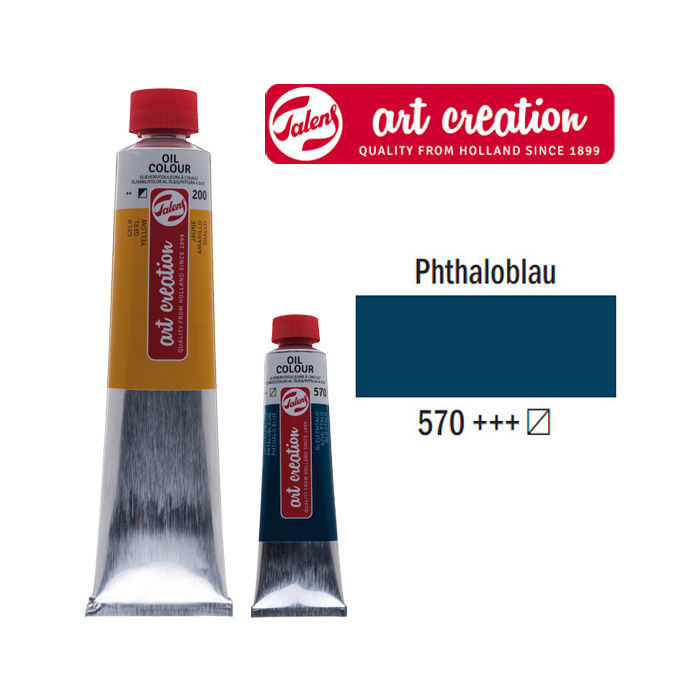 SALE Talens ArtCreation Ölfarbe 40 ml, Phthaloblau