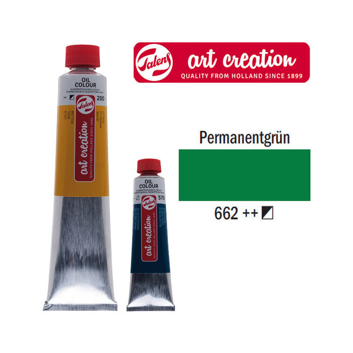 ArtCreation Ölfarbe 200ml Permanentgrün
