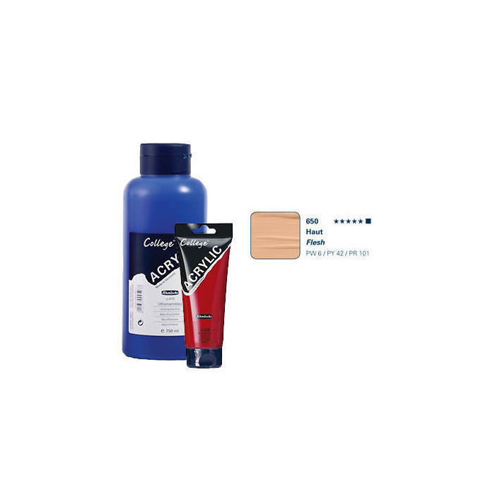 College Acrylic Acrylfarbe, 75ml, Haut