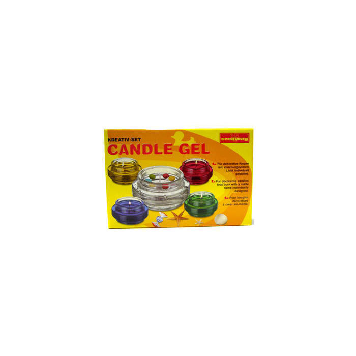 SALE Kerzen-Gel Komplett-Set Candle Gel