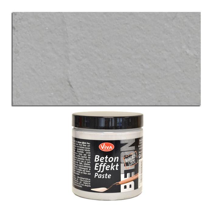 viva decor beton effekt paste 250ml grau beton hobby. Black Bedroom Furniture Sets. Home Design Ideas