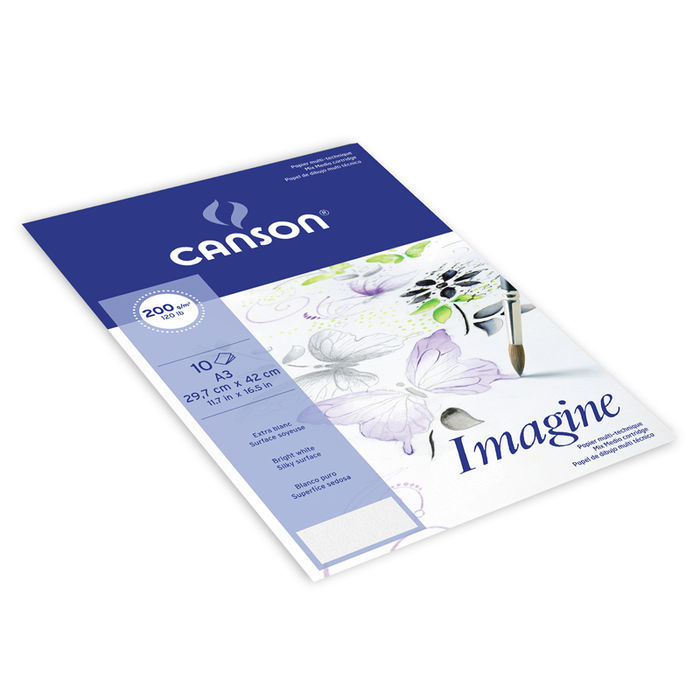 SALE Canson Pochette Imagine, A3, 10 Blatt Bild 2