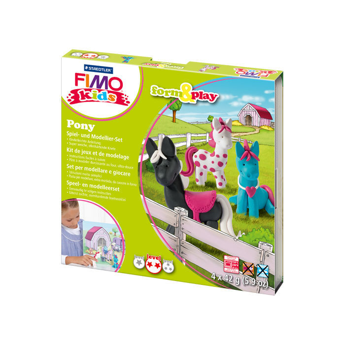 Fimo kids Form & Play Set Pony