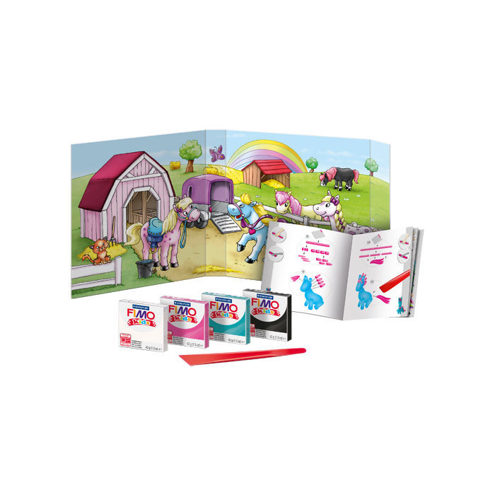 Fimo kids Form & Play Set Pony Bild 2