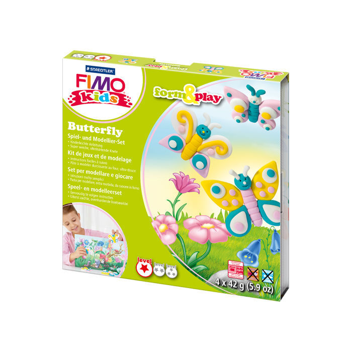 Fimo kids Form & Play Set Butterfly