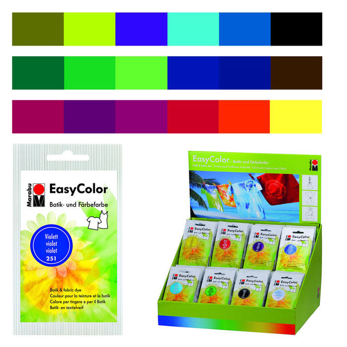 Marabu Easy Color, Beutel 25g Olive Bild 2