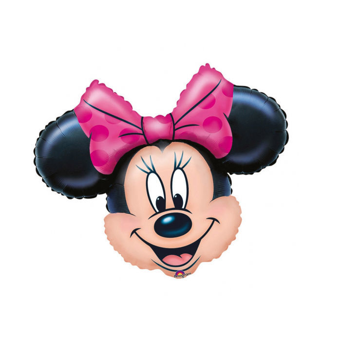 Folienballon Minnie Mouse 71x58cm Kinder Party Minnie Mouse