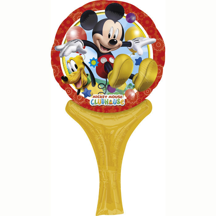 Folienballon Mickey Mouse, 15x30 cm