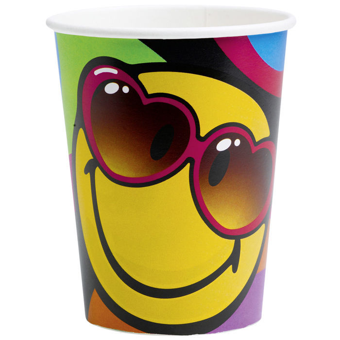 Becher Smiley Express Yourself, 250 ml, 8 Stk
