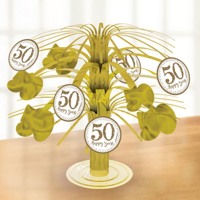Tisch Deko Kaskade Goldene Hochzeit 19 Cm Geburtstags