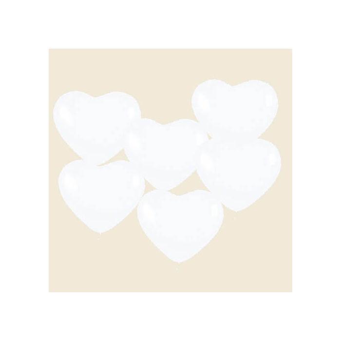 Luftballon Herzen Klein Wei 10 St Ck Bastel