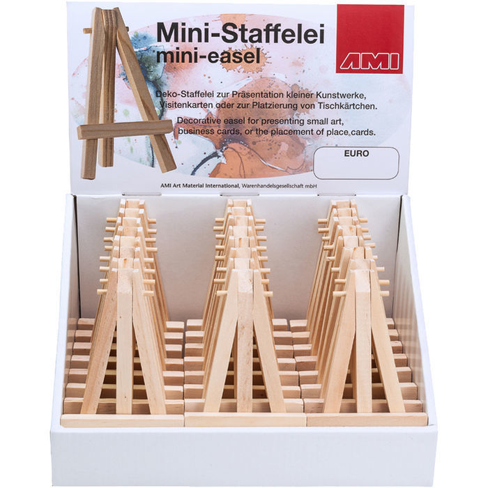 Mini Staffelei 12 5 Cm Bastel Dekorationsartikel