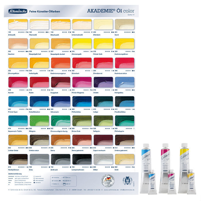 Akademie Öl-Color Ölmalfarbe 60ml, Ultramarin Bild 2